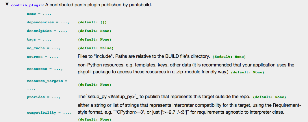 Adding support for multiline param help descriptions in